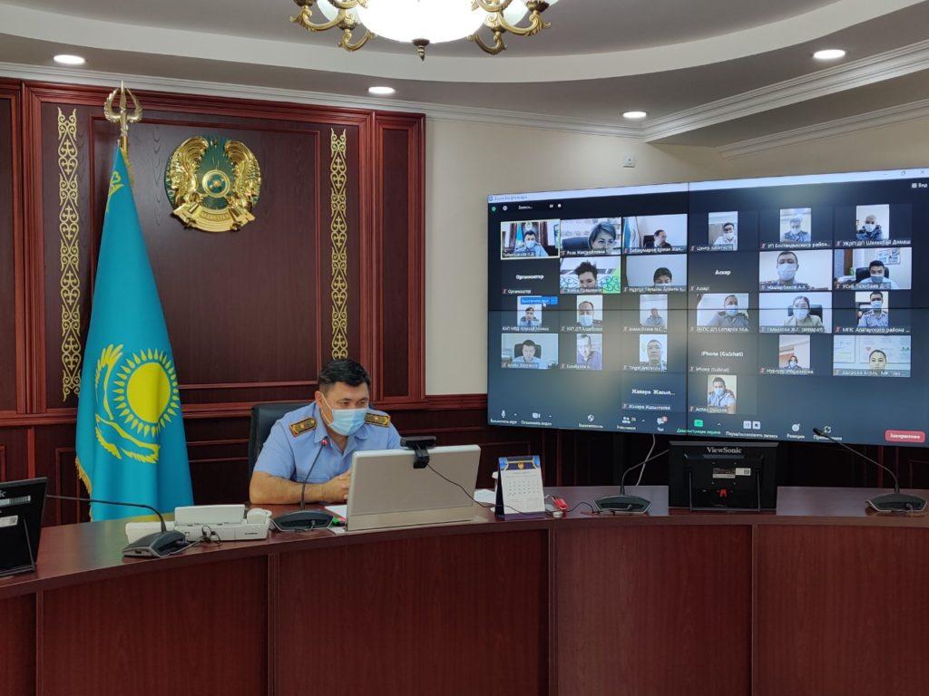 Как реализуется проект о сервисной полиции в Алматы