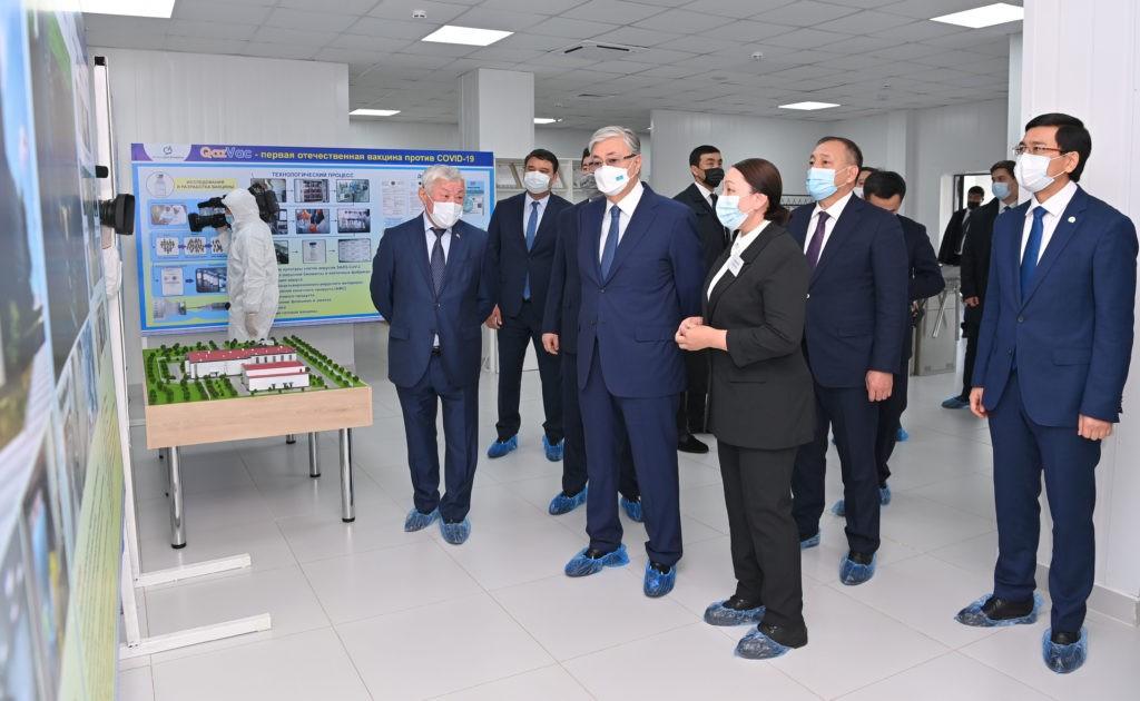 Казахстанскую вакцину от COVD-19 планируют отправлять в ОАЭ и другие страны