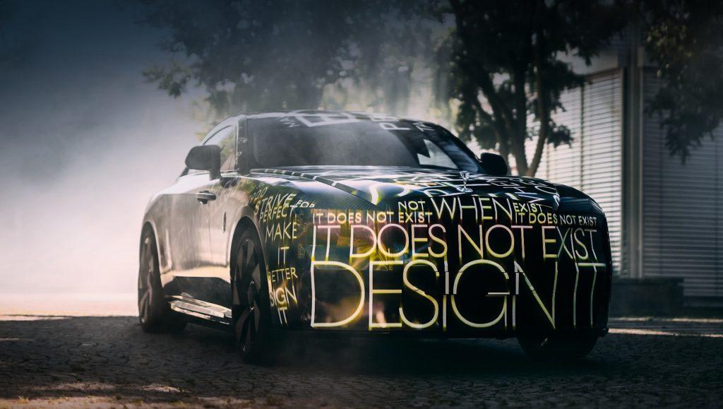 Rolls-Royce представила свой первый электромобиль