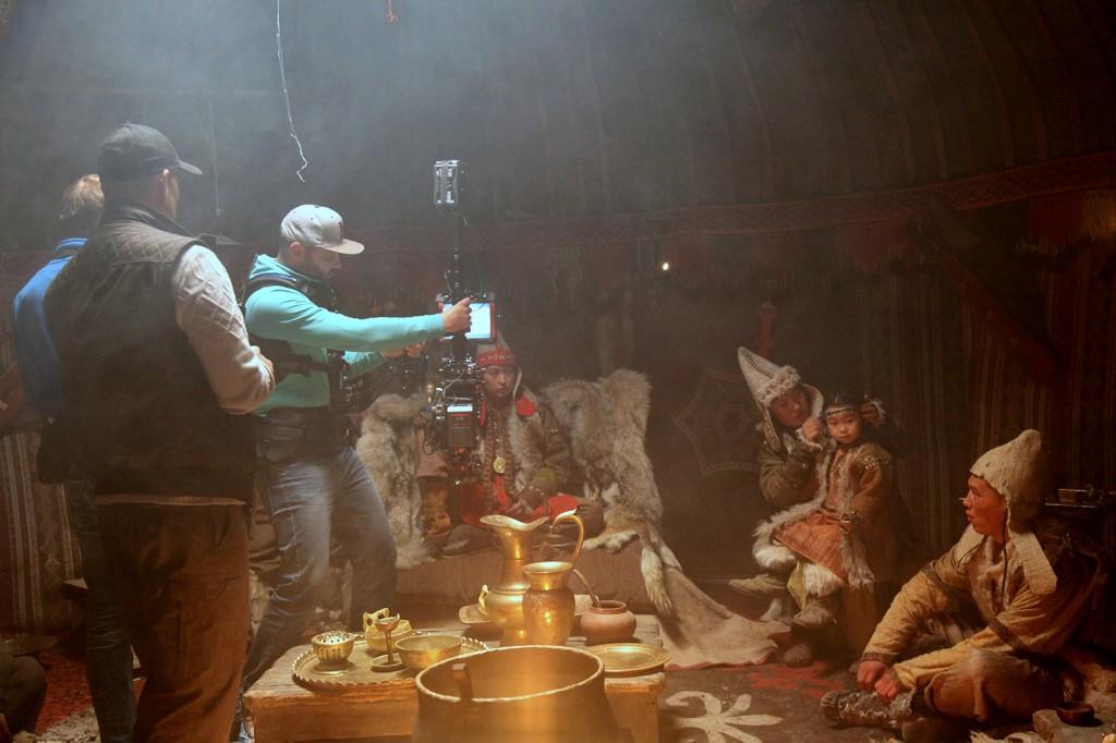 снимать кино в Казахстане